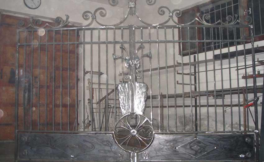 cancelli in ferro battuto