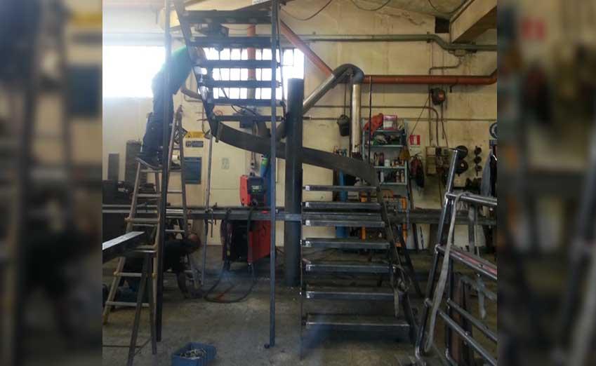scale in ferro per interni e esterni