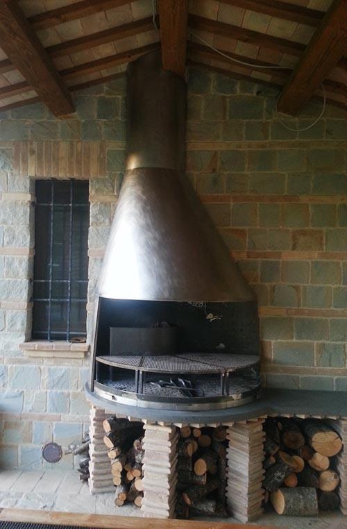 barbecue acciaio inox
