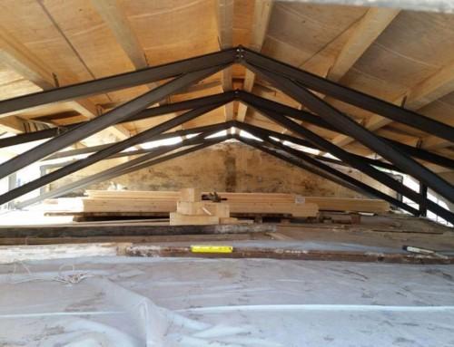 Realizzazione di capriate per tetto