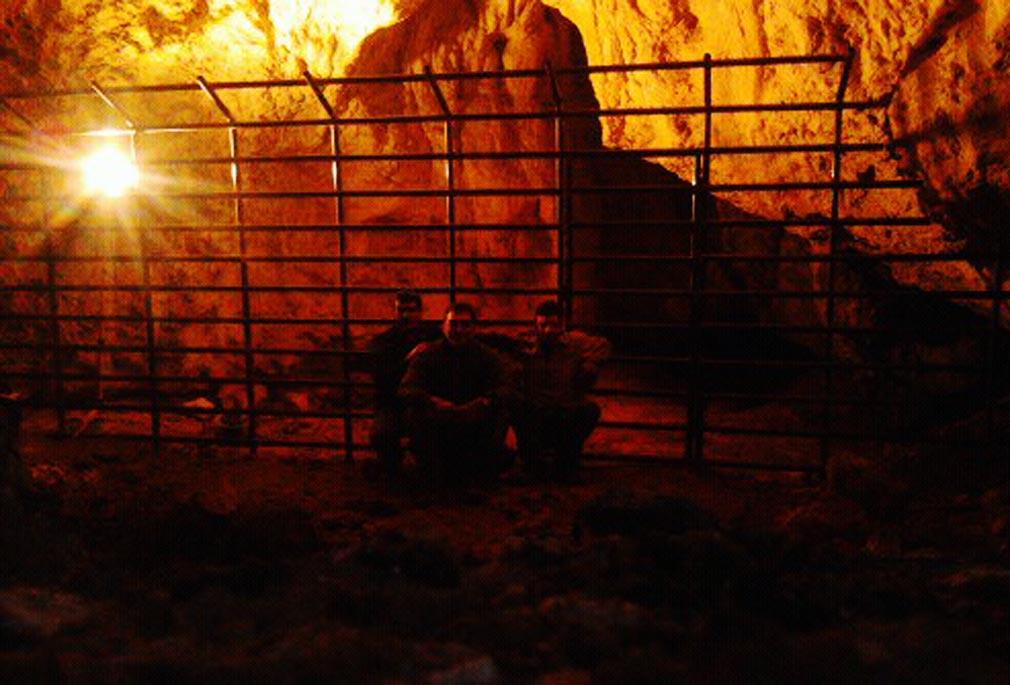 protezioni in acciaio grotte di frasassi